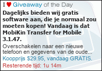 Giveaway of the Day - Weggevertje van de Dag